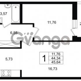 Продается квартира 1-ком 45 м² Шоссейная 1, метро Ладожская