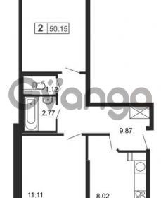 Продается квартира 2-ком 61 м² Кушелевская дорога 5к 2, метро Лесная