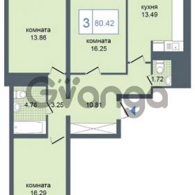 Продается квартира 3-ком 80 м² Дунайский проспект 7, метро Звёздная