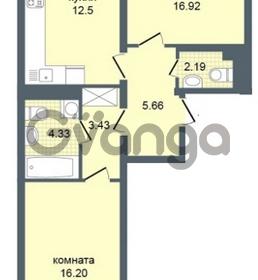 Продается квартира 2-ком 61 м² Дунайский проспект 7, метро Звёздная