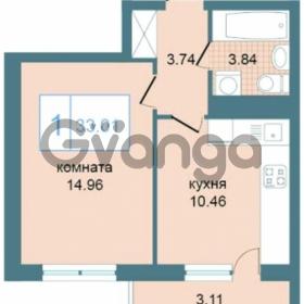 Продается квартира 1-ком 33 м² Дунайский проспект 7, метро Звёздная