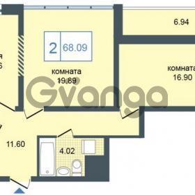 Продается квартира 2-ком 68 м² Дунайский проспект 7, метро Звёздная