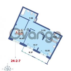 Продается квартира 2-ком 67.47 м² Савушкина 112к 4, метро Старая деревня