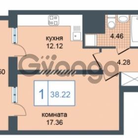 Продается квартира 1-ком 38 м² Дунайский проспект 7, метро Звёздная