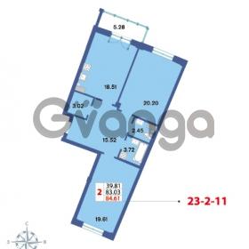 Продается квартира 2-ком 84.61 м² Савушкина 112к 4, метро Старая деревня