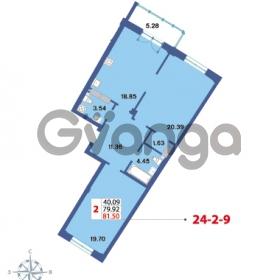 Продается квартира 2-ком 81.5 м² Савушкина 112к 4, метро Старая деревня