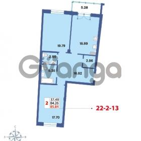 Продается квартира 2-ком 85.84 м² Савушкина 112к 4, метро Старая деревня