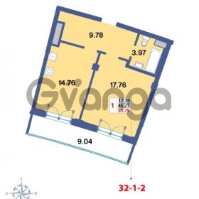 Продается квартира 1-ком 50.79 м² Савушкина 112к 4, метро Старая деревня