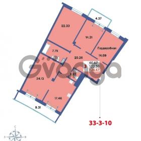 Продается квартира 3-ком 128.47 м² Савушкина 112к 4, метро Старая деревня