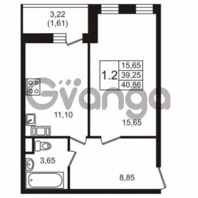 Продается квартира 1-ком 40.86 м² Севастопольская улица 14, метро Нарвская