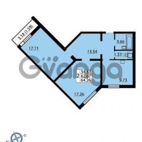 Продается квартира 2-ком 64 м² Ленинский проспект 69, метро Проспект Ветеранов