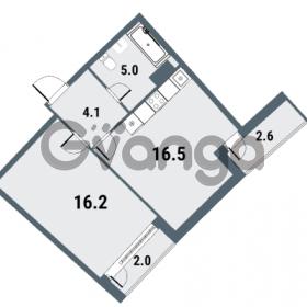 Продается квартира 1-ком 41.8 м² Плесецкая улица 1, метро Комендантский проспект
