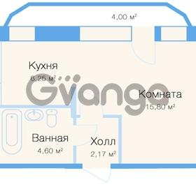 Продается квартира 1-ком 30 м² улица Николая Рубцова 11к 1, метро Парнас