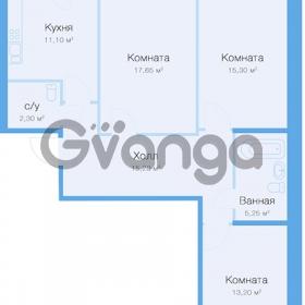 Продается квартира 3-ком 81 м² улица Николая Рубцова 11к 1, метро Парнас