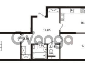 Продается квартира 2-ком 76.86 м² Европейский проспект 9к 1, метро Улица Дыбенко