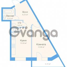 Продается квартира 1-ком 39 м² улица Николая Рубцова 11к 1, метро Парнас
