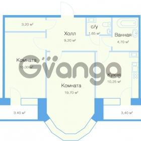 Продается квартира 2-ком 67 м² улица Николая Рубцова 11к 1, метро Парнас