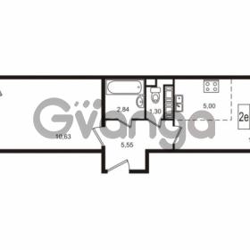 Продается квартира 1-ком 38.62 м² улица Пионерстроя 29, метро Проспект Ветеранов