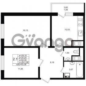 Продается квартира 2-ком 52 м² проспект Энергетиков 9, метро Ладожская