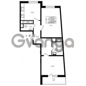 Продается квартира 2-ком 56 м² проспект Энергетиков 9, метро Ладожская