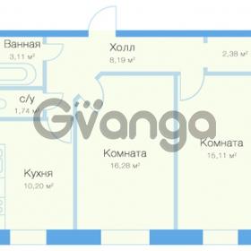 Продается квартира 2-ком 57 м² Заречная улица 20к 1, метро Парнас