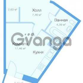 Продается квартира 1-ком 32 м² Заречная улица 20к 1, метро Парнас