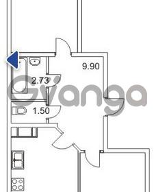 Продается квартира 2-ком 63 м² Гаражный проезд 1, метро Проспект Просвещения