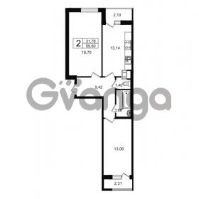 Продается квартира 2-ком 59.6 м² проспект Александровской Фермы 8, метро Пролетарская