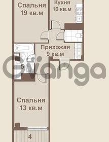 Продается квартира 2-ком 61 м² площадь Европы 1, метро Приморская