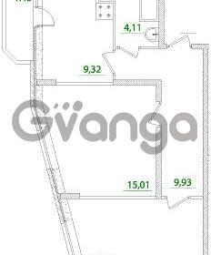 Продается квартира 2-ком 52 м² Воронцовский бульвар 1, метро Девяткино