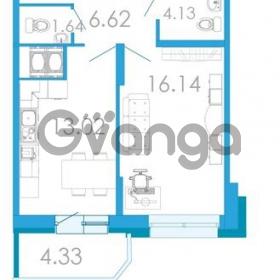 Продается квартира 1-ком 44.1 м² проспект Маршала Блюхера 5к А, метро Лесная