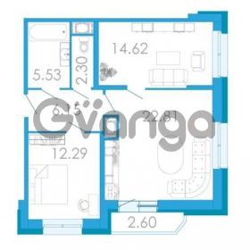 Продается квартира 2-ком 65.04 м² проспект Маршала Блюхера 5к А, метро Лесная