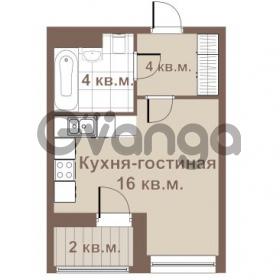 Продается квартира 1-ком 25 м² улица Крыленко 1, метро Улица Дыбенко