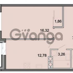 Продается квартира 1-ком 43.82 м² Новоорловская улица 101, метро Озерки