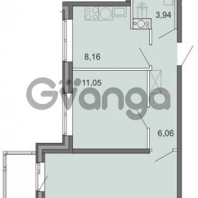 Продается квартира 2-ком 46.73 м² Новоорловская улица 101, метро Озерки