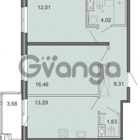 Продается квартира 2-ком 57.22 м² Новоорловская улица 101, метро Озерки