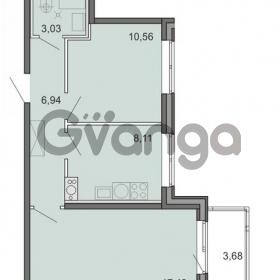 Продается квартира 2-ком 46.07 м² Новоорловская улица 101, метро Озерки