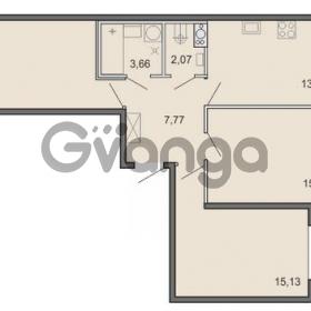 Продается квартира 3-ком 75.61 м² Новоорловская улица 101, метро Озерки
