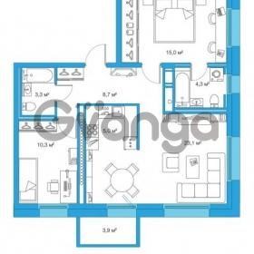 Продается квартира 2-ком 69.7 м² Комендантский проспект 58к 2, метро Комендантский проспект