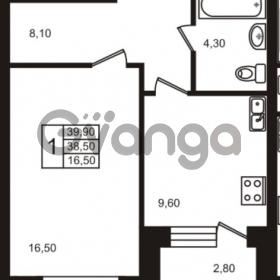 Продается квартира 1-ком 39 м² шоссе в Лаврики 83, метро Девяткино
