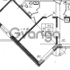Продается квартира 2-ком 56 м² шоссе в Лаврики 83, метро Девяткино