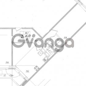 Продается квартира 2-ком 68 м² шоссе в Лаврики 83, метро Девяткино