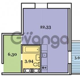 Продается квартира 1-ком 34 м² Овцынская улица 5, метро Ломоносовская