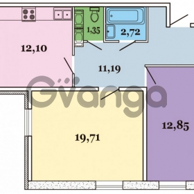 Продается квартира 2-ком 59 м² Овцынская улица 5, метро Ломоносовская
