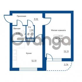 Продается квартира 1-ком 45 м² Советская улица 29, метро Ладожская