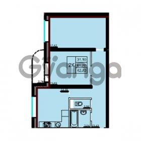 Продается квартира 2-ком 62 м² Советская улица 29, метро Ладожская