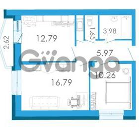 Продается квартира 2-ком 52.75 м² Школьная улица 6к А, метро Звездная