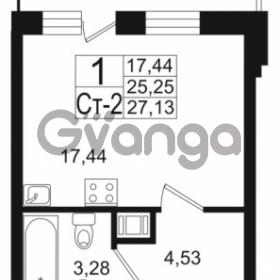 Продается квартира 1-ком 25 м² Немецкая улица 1, метро Улица Дыбенко