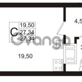 Продается квартира 1-ком 27 м² Европейский проспект 1, метро Улица Дыбенко
