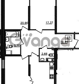 Продается квартира 3-ком 100 м² Уральская 4, метро Василеостровская